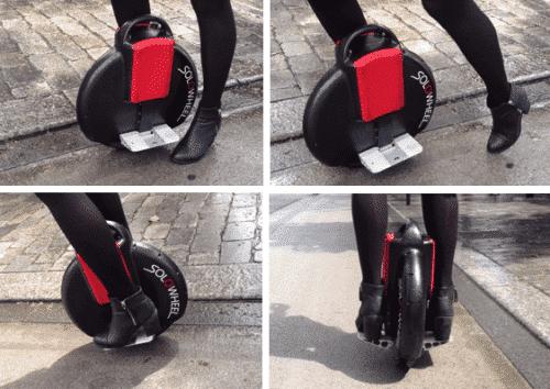 Demarage roue electrique