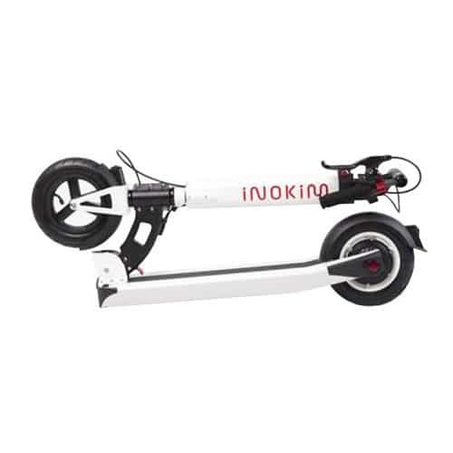 inokim light trottinette blanche pliee