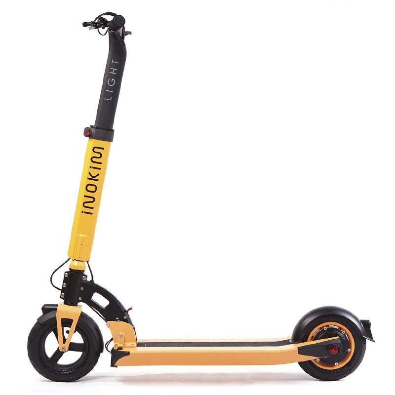 inokim light trottinette orange depliee