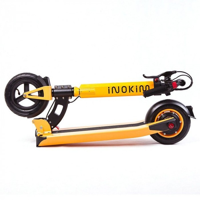 inokim light trottinette orange pliee