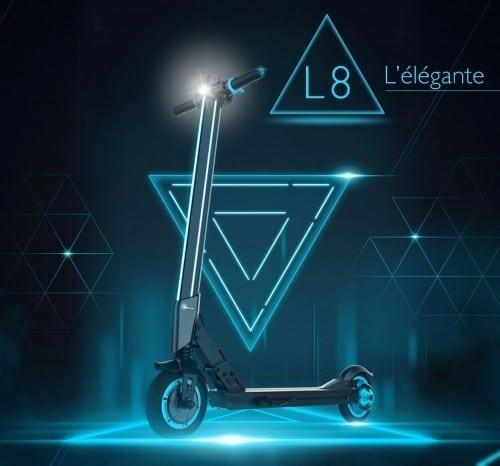 Trottinette électrique inmotion l8f