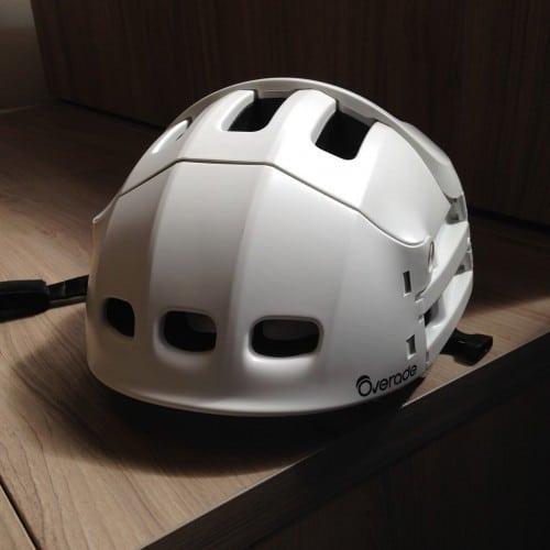 Casque-pliant-pliable-OVERADE-Plixi-modèle-2017-blanc
