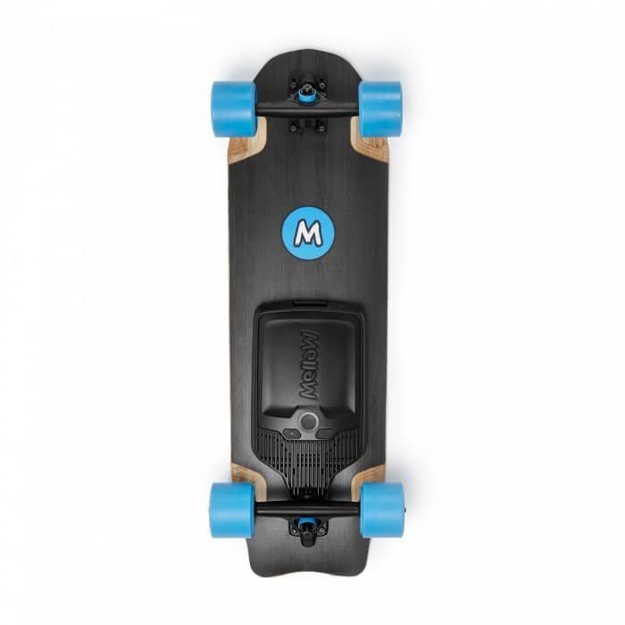 mellowboards electric skateboard mellow board cruiser topview