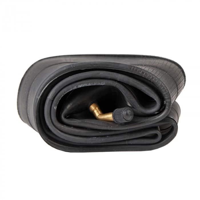 Chambre à air 10 x 2 pouces (valve coudée parallèle au pneu)