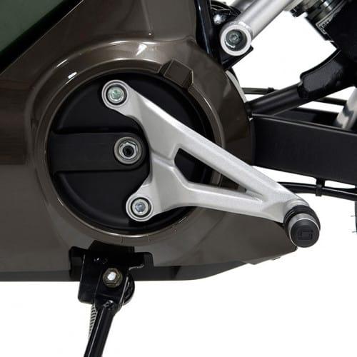 Paire de cale-pieds pour e-moto Super SOCO TS 1200R/TC