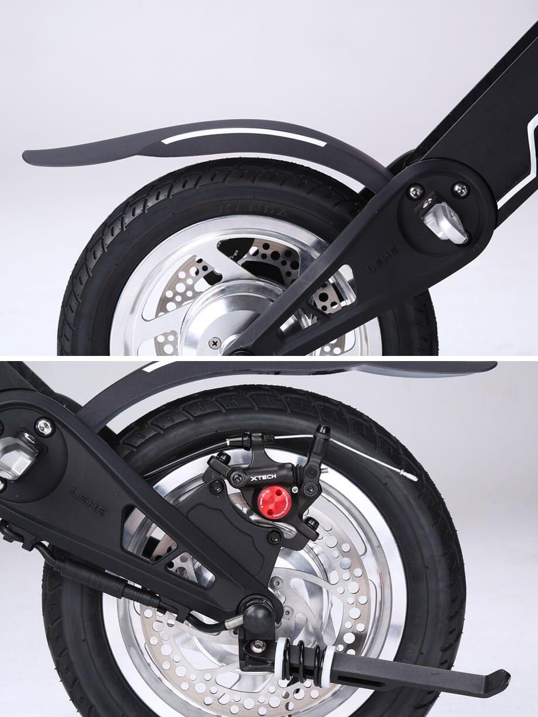 lehe k1 48v mini scooter draisienne 20