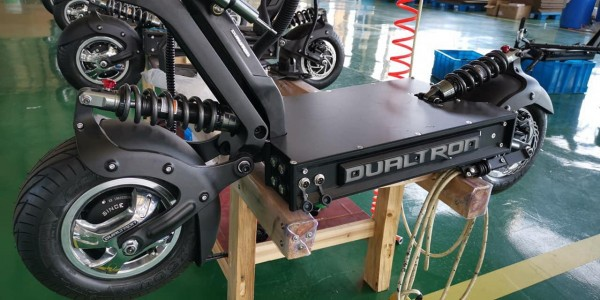 dualtron x montage usine trottinette electrique