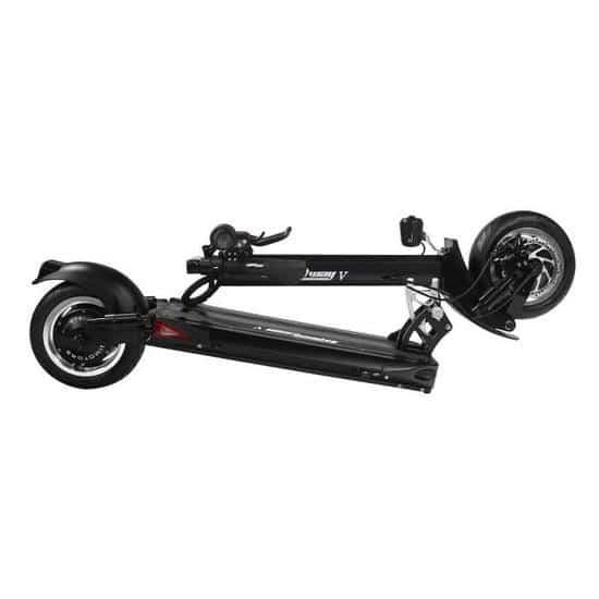 trottinette electrique double moteur speedway 5 minimotors pliee folded