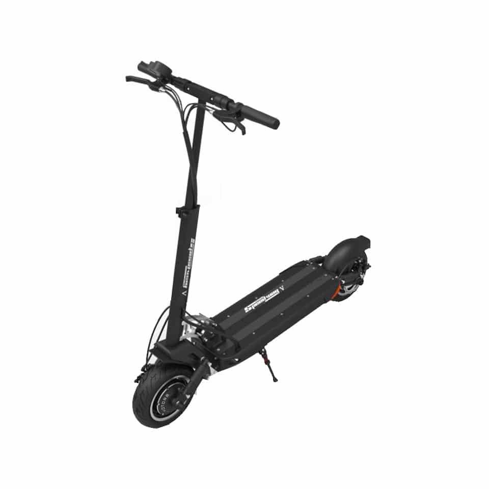 trottinette electrique double moteur speedway 5 minimotors vue haute