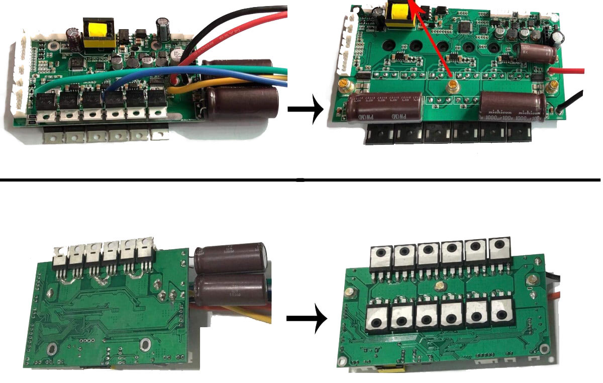 new-gotway-PCB-before-after