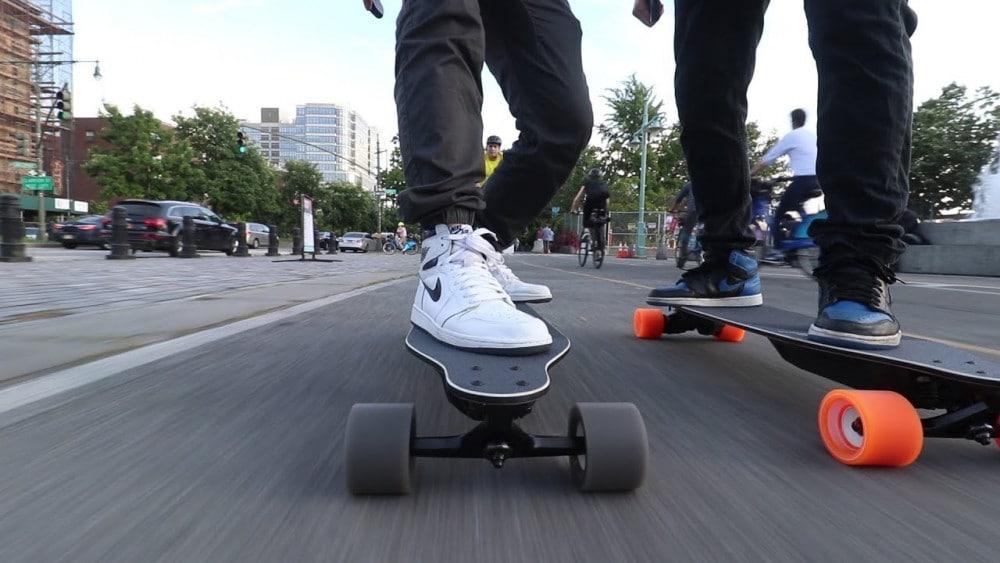 Skate electrique Boosted Stealth
