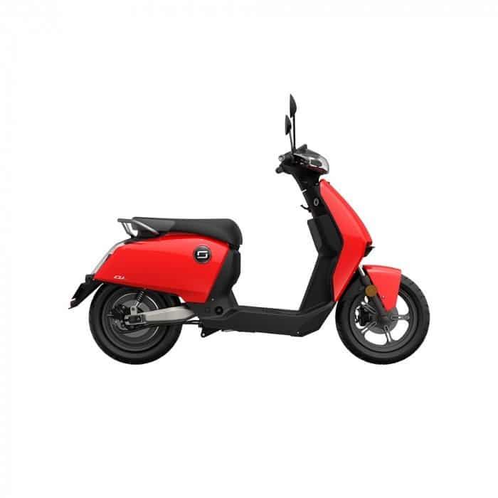 scooter electrique super soco cu rouge