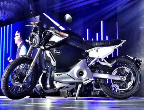 Test de la moto électrique SUPER SOCO TC MAX [125 cc]