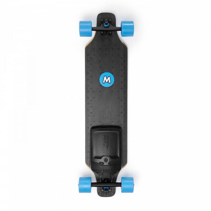 mellowboards electric skateboard mellow board surfer topview