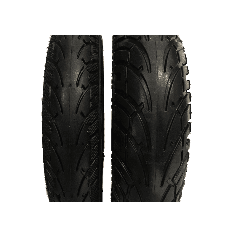 roue gomme tendre large