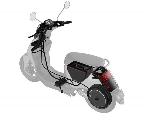 design super soco cu x scooter electrique
