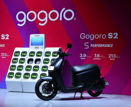 gogoro swap batteries