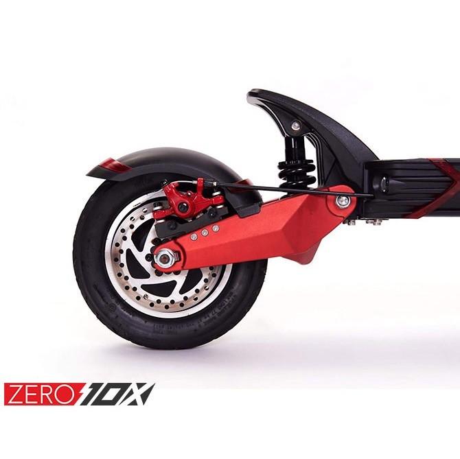 Zero 10X electric scooter uk detail rear motor