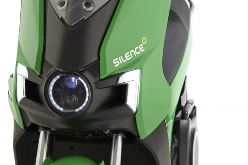 moto scooter electrique silence S01 front light