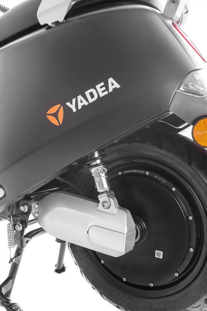 SXT Yadea G5 ESCG5.6 schwarz matt Hinterrad
