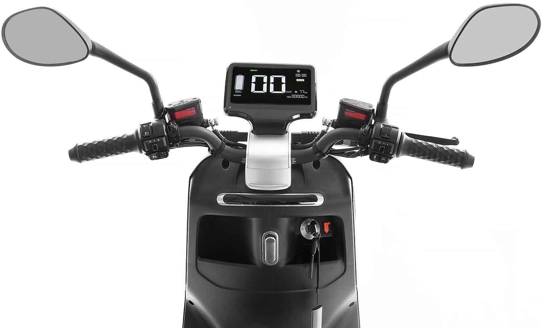 SXT Yadea G5 ESCG5.6 schwarz matt Lenker Armaturenbrett