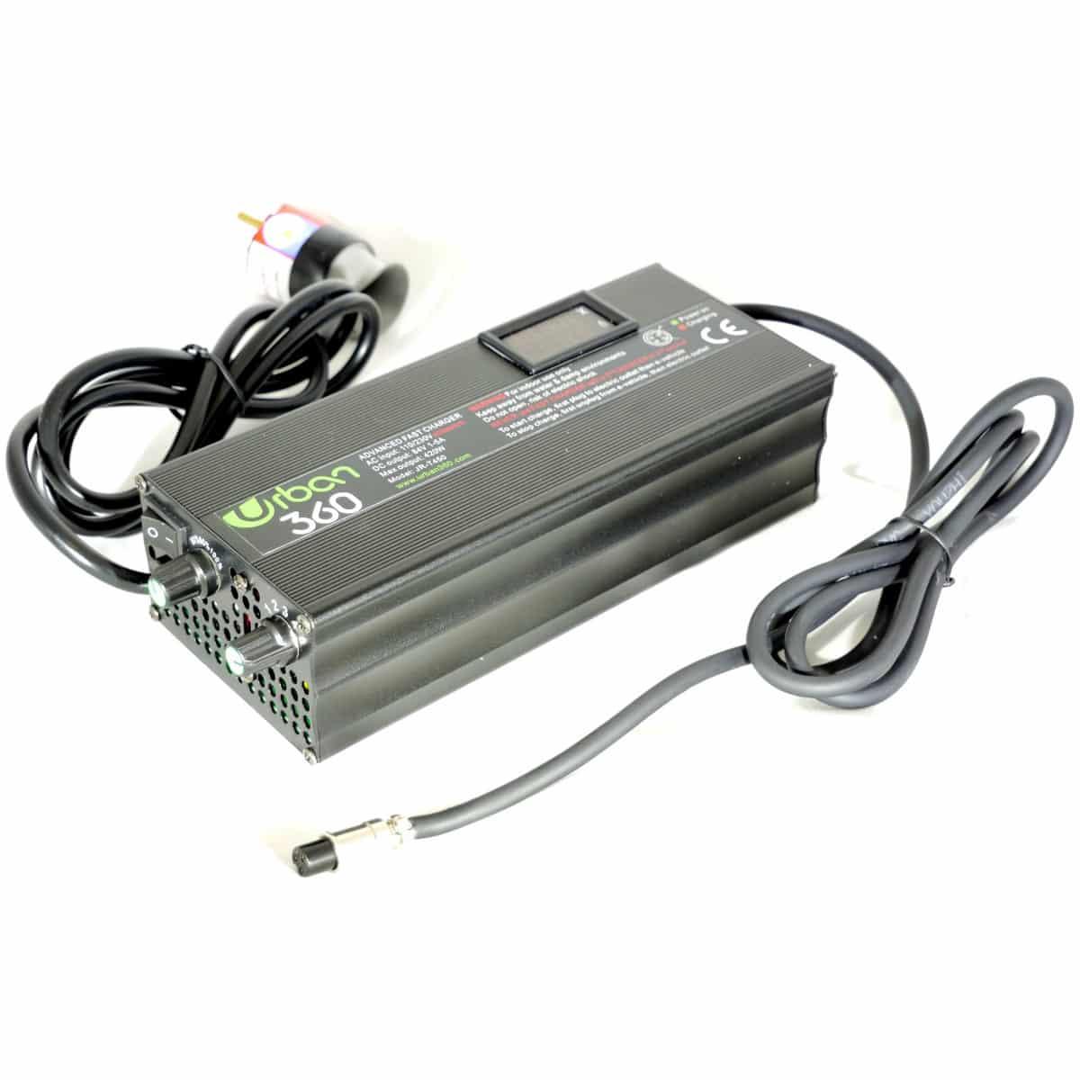 Chargeur rapide InMotion V8/V10/V10F à 84 V de 1 Ah à 5 Ah