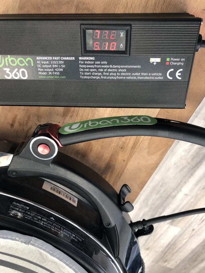 fast charger for inmotion v10 v8