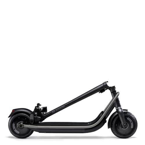 boosted rev trottinette electrique dexcellence double moteurs pliee