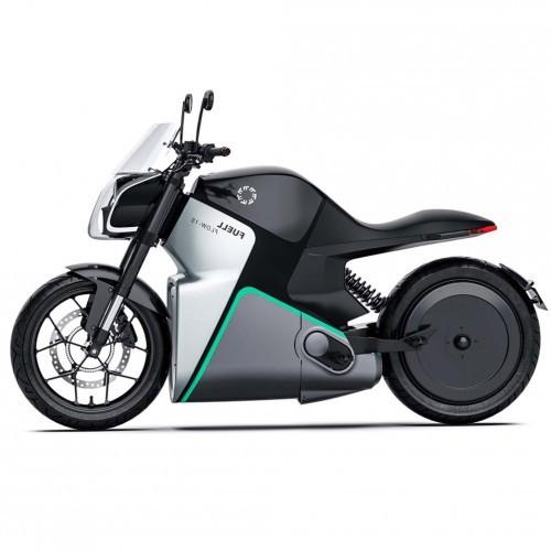 fuell flow moto electrique profil